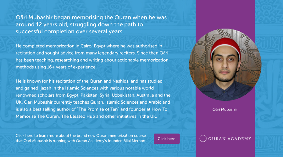 Quran Memorization Tips for Visual Learners