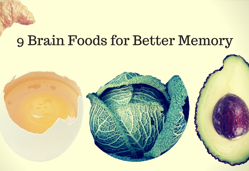brain foods for better memory