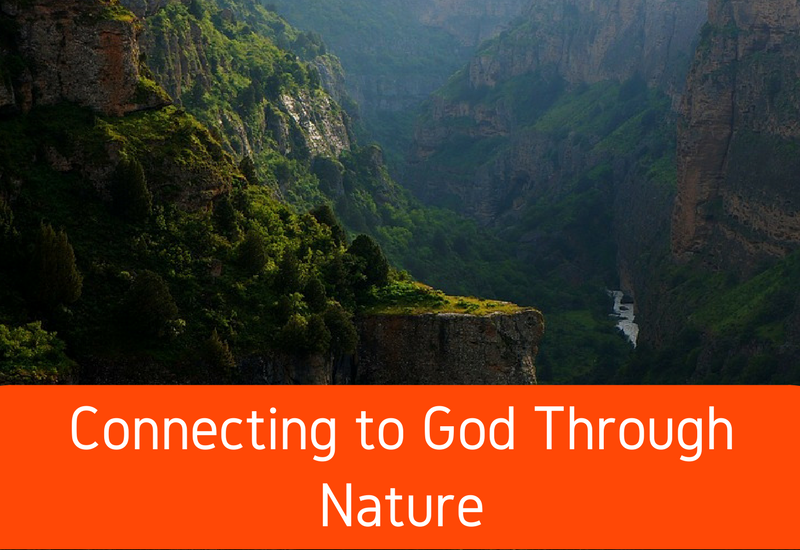 connecting to god through nature
