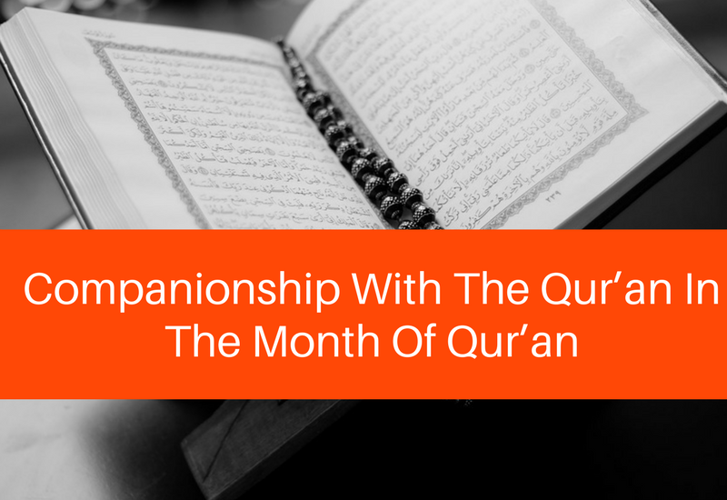 companionship with the quran
