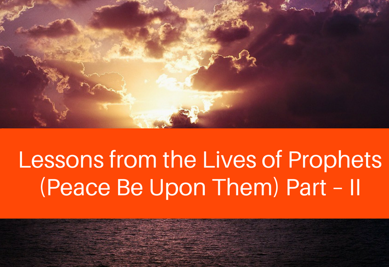 lessons from the lives of the prophets