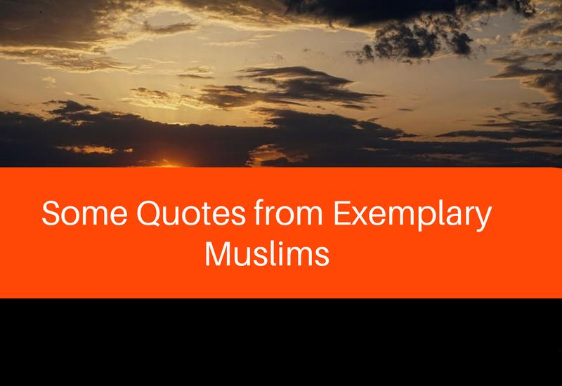 exemplary muslims